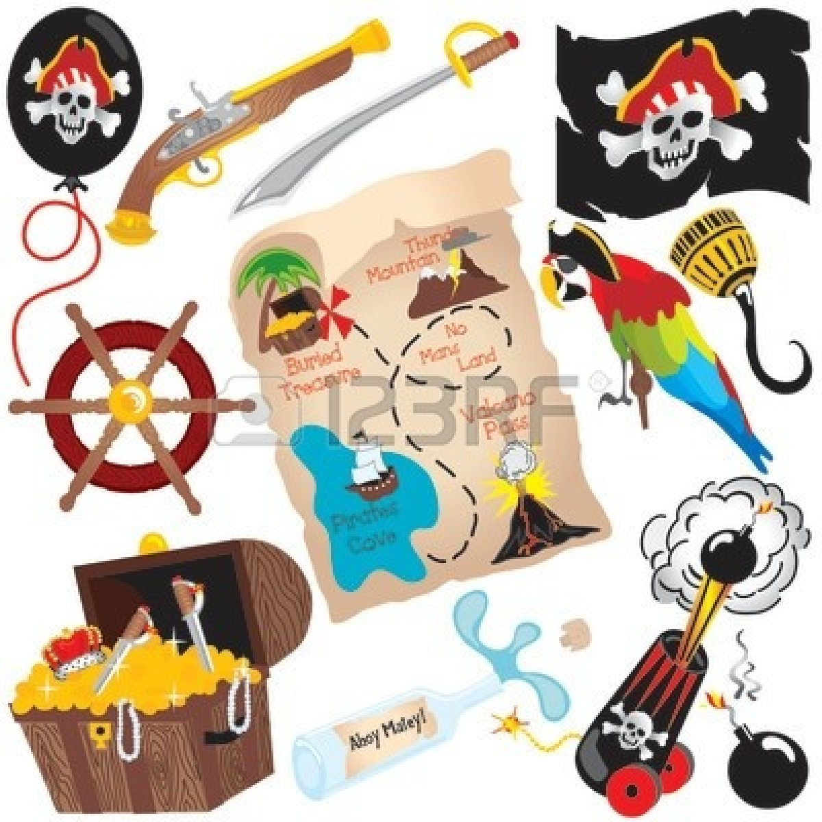 Pirates Of The Caribbean Clip Art