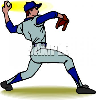 Baseball Player Pitching Clipart | Clipart Panda - Free Clipart Images