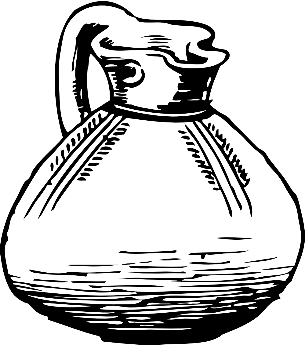 coloring pages pitcher of water - photo#31