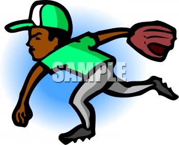 Clip Art: Boy Playing Baseball | Clipart Panda - Free ...