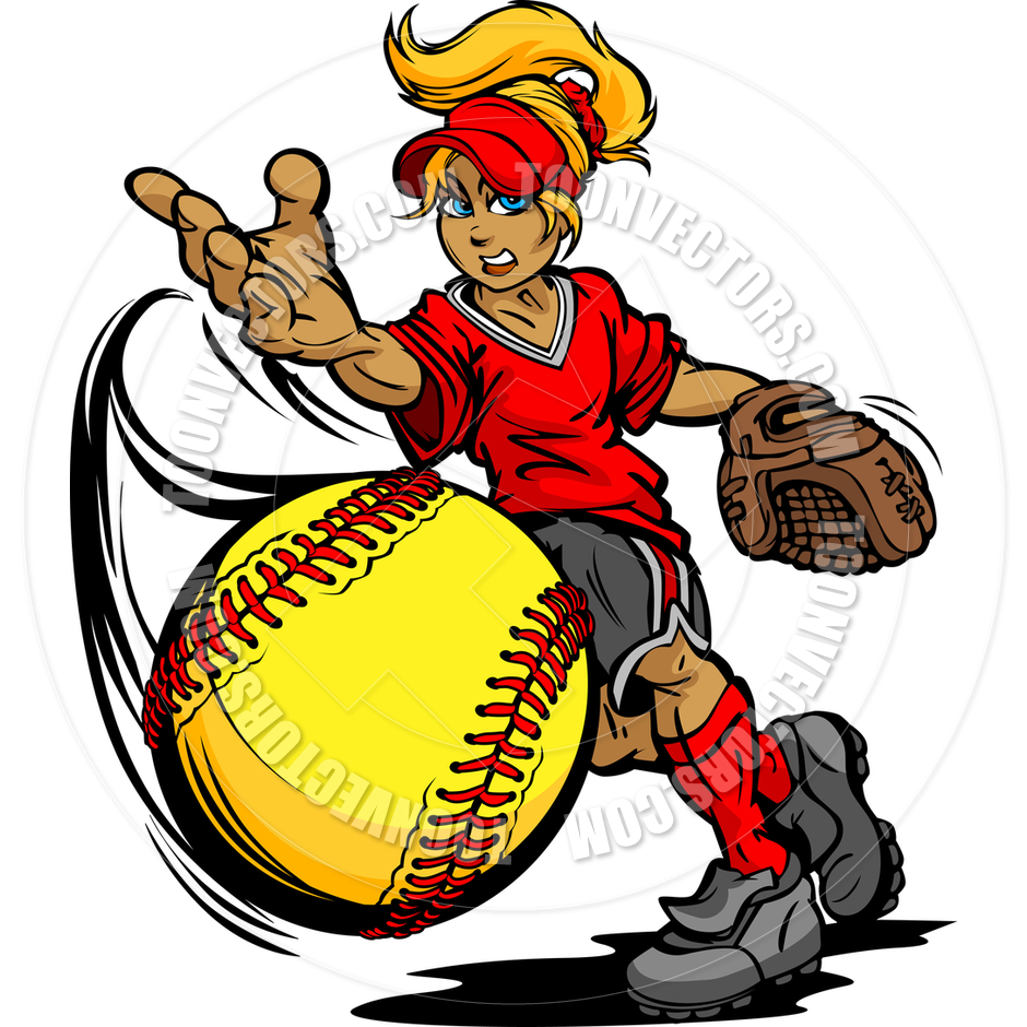 Fastpitch Softball Clip Art Pictures To Pin On Pinterest