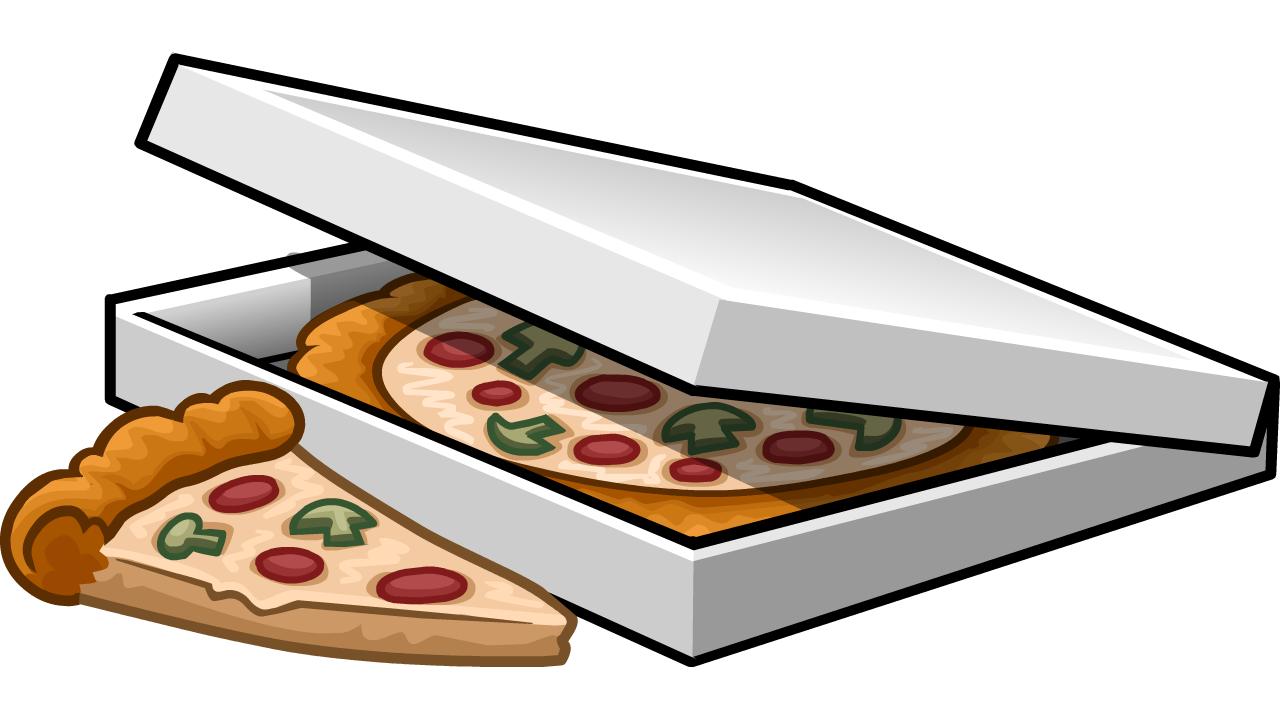 pizza box clipart free - photo #3