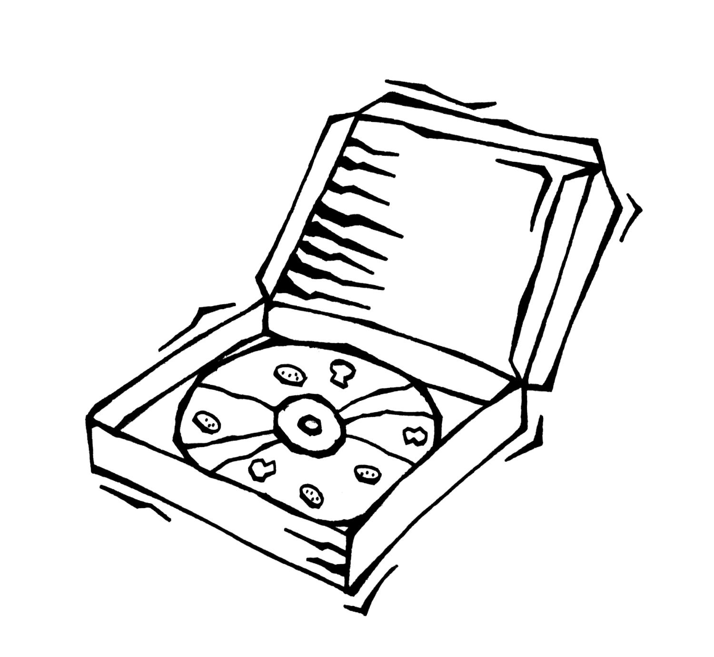 pizza box clipart free - photo #34