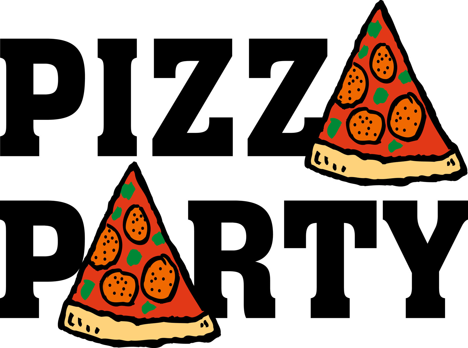 Pizza Party Flyer | Clipart Panda - Free Clipart Images