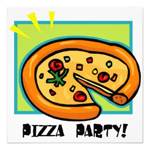 Pizza Party Invite Clipart Joy Studio Design Gallery
