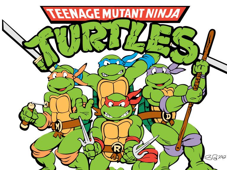 Pizza Party Ninja Turtles Clipart Panda Free Clipart