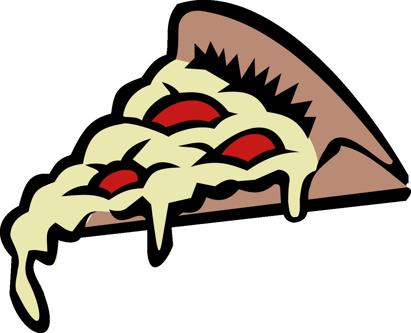 Pizza Slice Clipart Black And White | Clipart Panda - Free Clipart ...