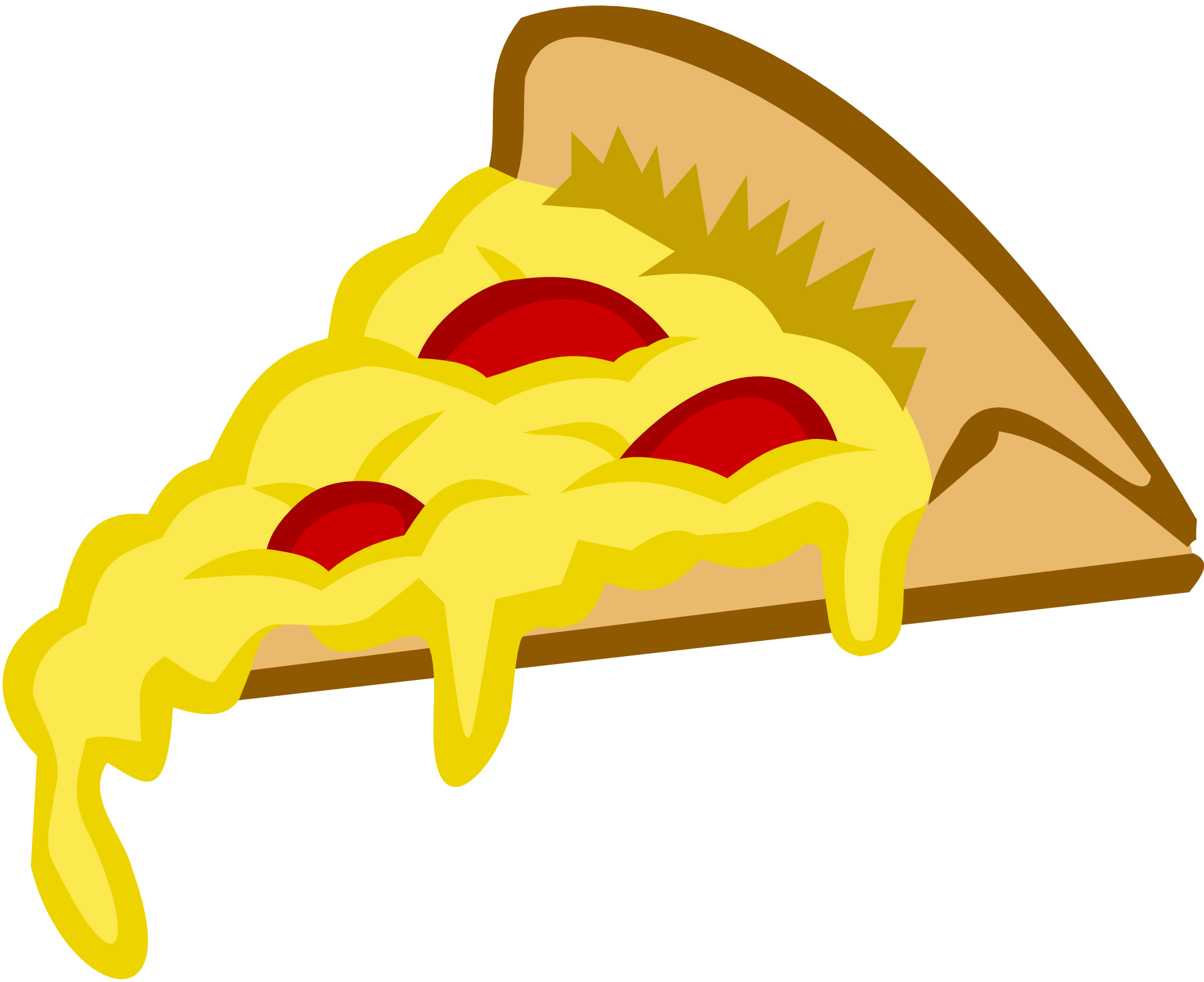 Pizza Slice Graphic | Clipart Panda - Free Clipart Images