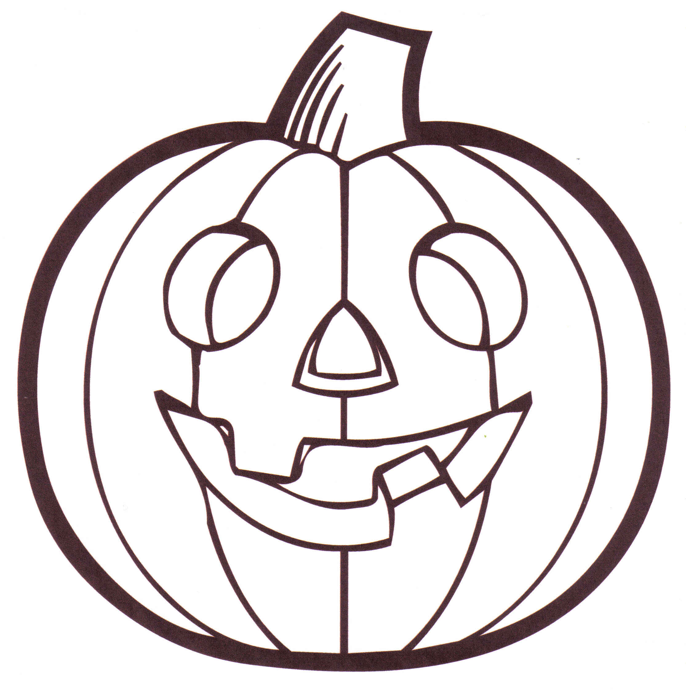 Pumpkin Patch Coloring Page Clipart Panda Free Clipart Images