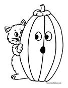 plain pumpkin coloring pages - photo#15