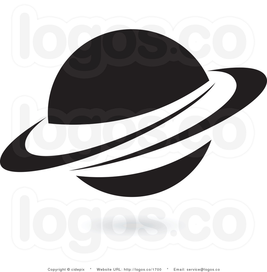 planets clipart black and white - photo #21
