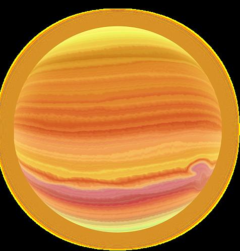 Planet jupiter. Clip art on clipart