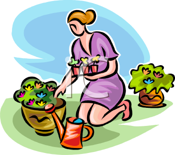 Potted Vegetable Plant Clipart | Clipart Panda - Free ...