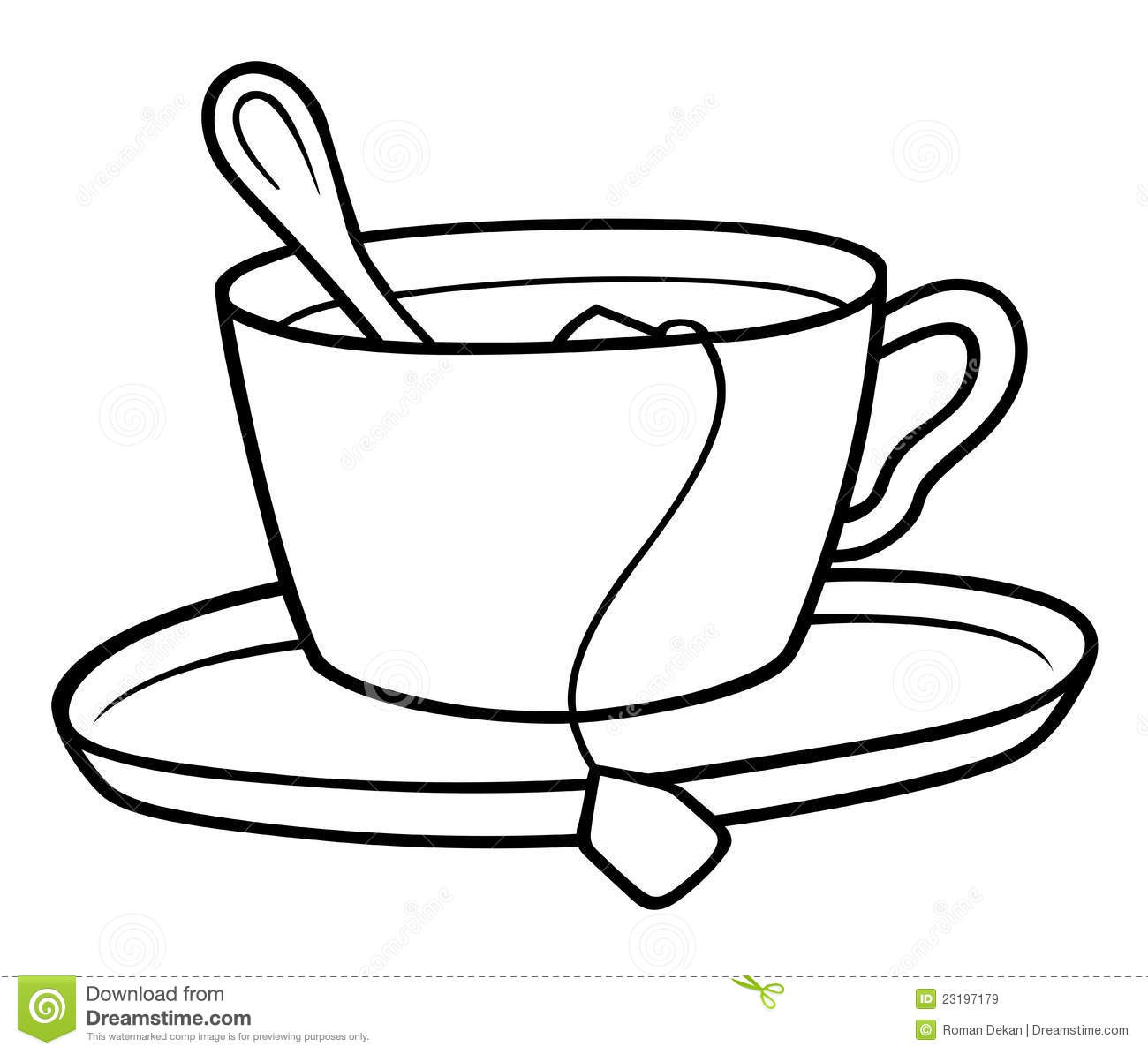 Tea Clipart Black And White | Clipart Panda - Free Clipart ...