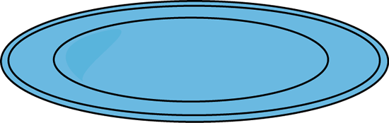 Plate Clipart
