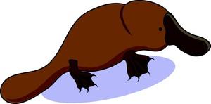 Clip Art Platypus Clipart platypus clip art 5 300x148 clipart panda free images info