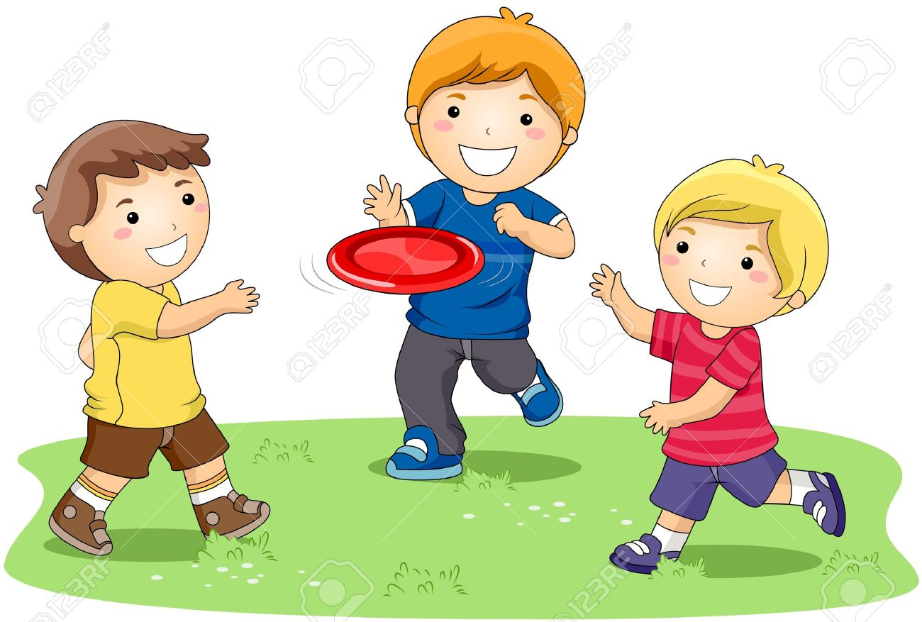 Children playing in the Park | Clipart Panda - Free ...