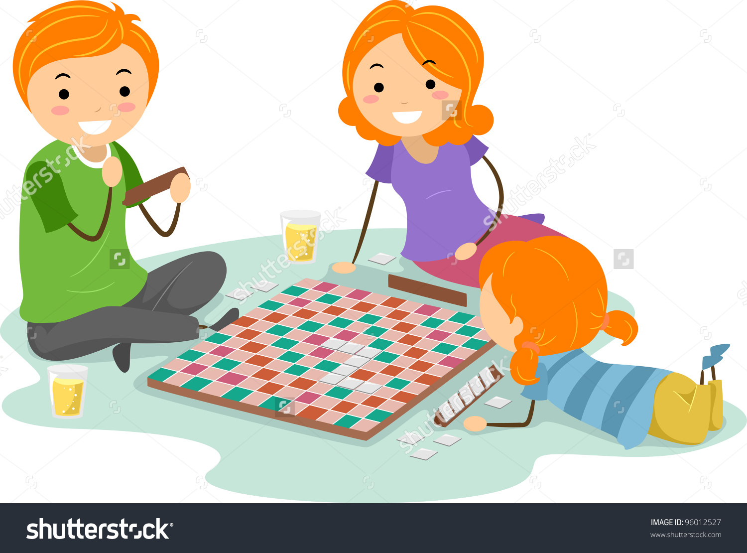 Family Playing Together Clipart Play Clipart Fr...