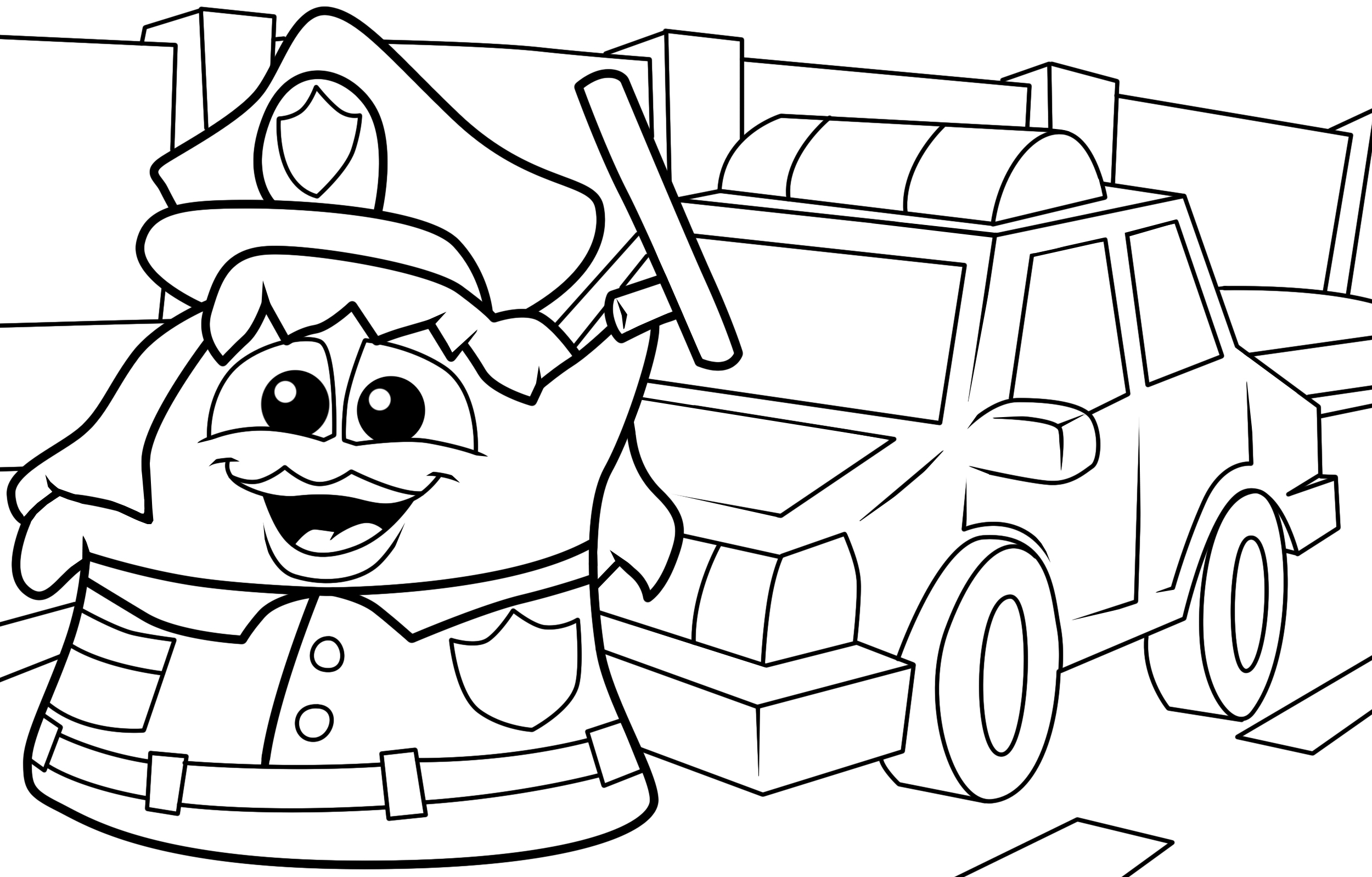 Coloring pages recess ~ Playground Coloring Pages Printable Sketch Coloring Page