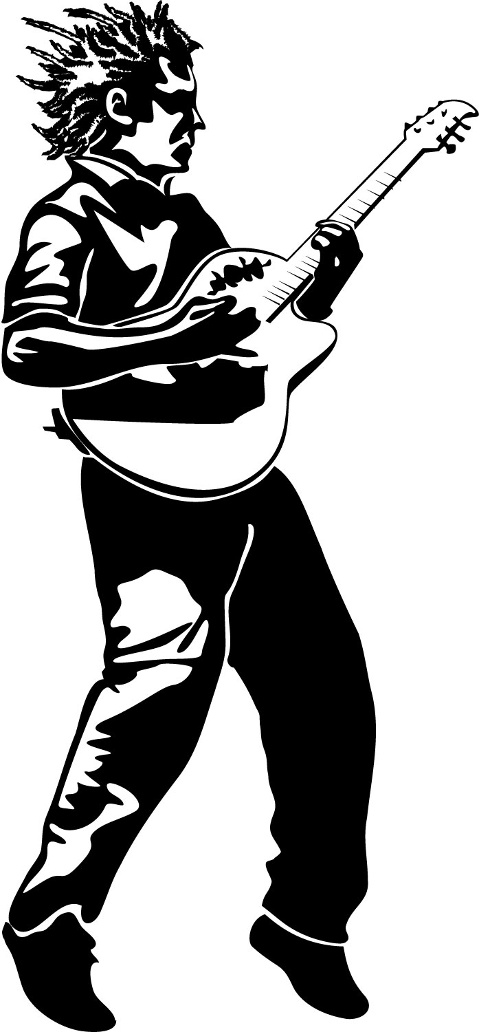 Playing Guitar Clipart | Clipart Panda - Free Clipart Images