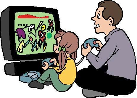 Kids Playing Games Clip Art Playing%20video%20games%