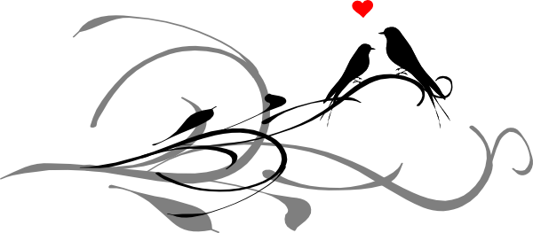 Love Clipart Black And White Clipart Panda