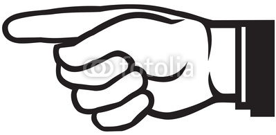 Pointing Hand Vector | Clipart Panda - Free Clipart Images