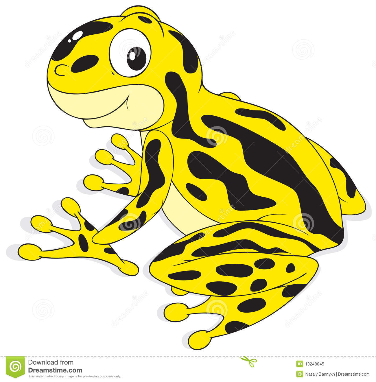 Poison dart frog clip art - photo#9