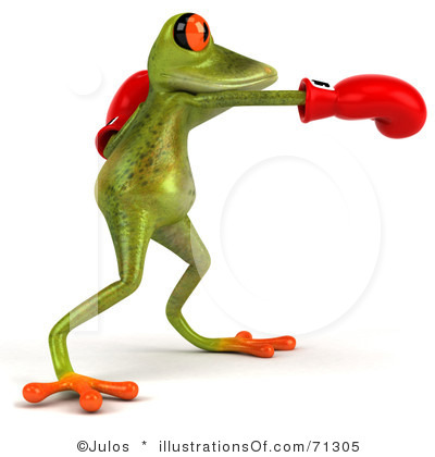 Poison dart frog clip art - photo#10
