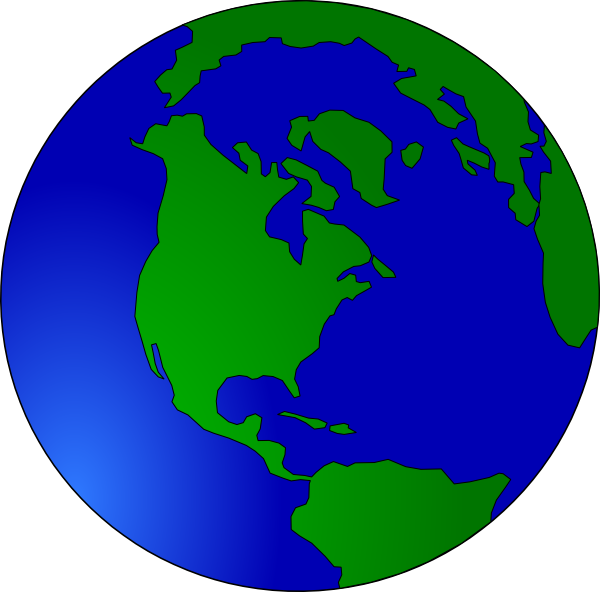 Animated Globe Clipart...