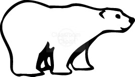 polar bear clip art black and white clipart panda free clipart rh clipartpanda com polar bear images clipart clipart polar bear paw prints