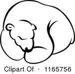 polar%20bear%20clipart%20black%20and%20white