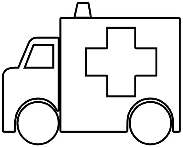 Ambulance Outline clip art | Clipart Panda - Free Clipart ...