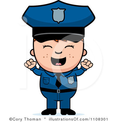 Police Officer Clipart Black And White | Clipart Panda - Free ...