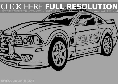 Coloring Pages Of Police Car : Police officer coloring pages clipart panda free clipart images