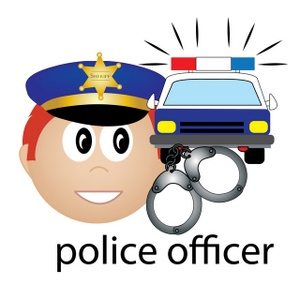 Police Officer Clipart - Synkee