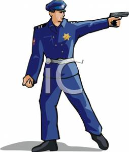 Police Officer Wallpaper | Clipart -  9.1KB