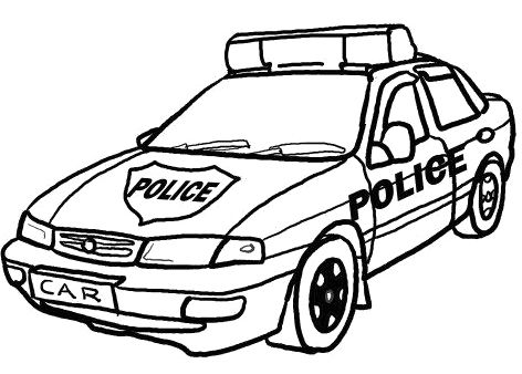 Police Station Coloring Page | Clipart Panda - Free ...