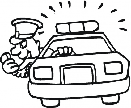 Policeman Coloring Pages: | Clipart Panda - Free Clipart Images