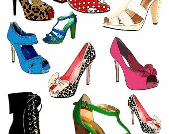 Original Women Shoes Vector Image | 123Freevectors