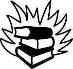 Books Burning Clip Art