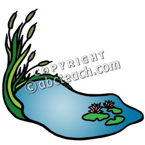 Pond Clip Art Pond clip art