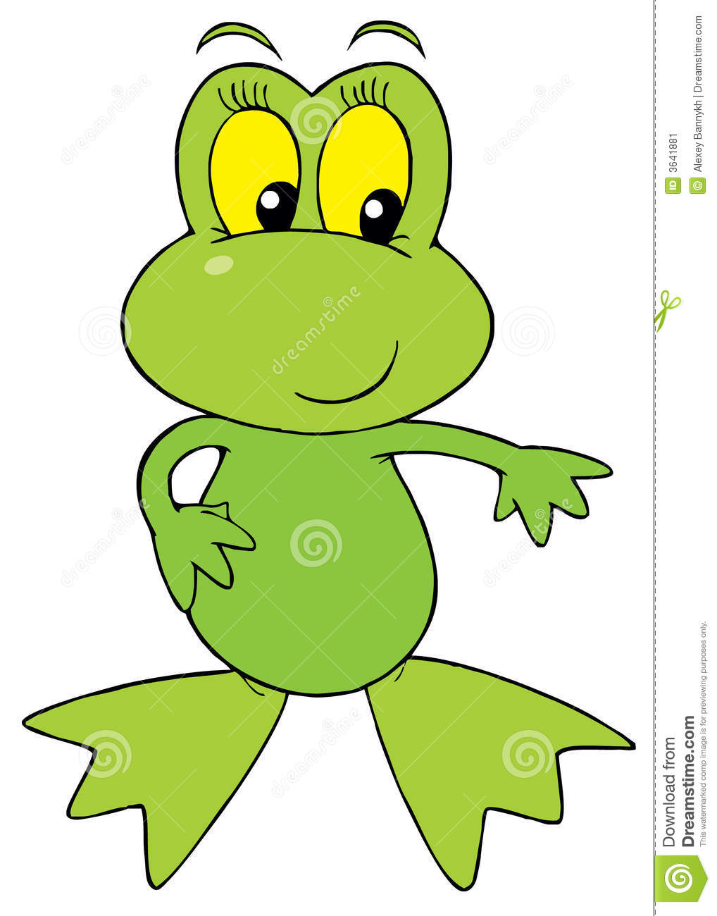 green frog clipart - photo #19