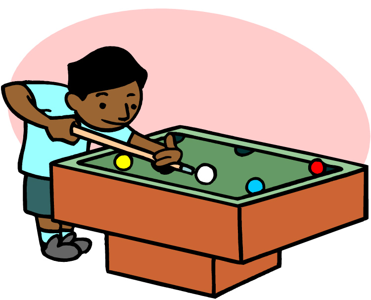 Billiards Table Clipart