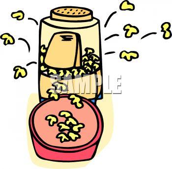 Making Popcorn Clipart Popping Popcorn Clip Art