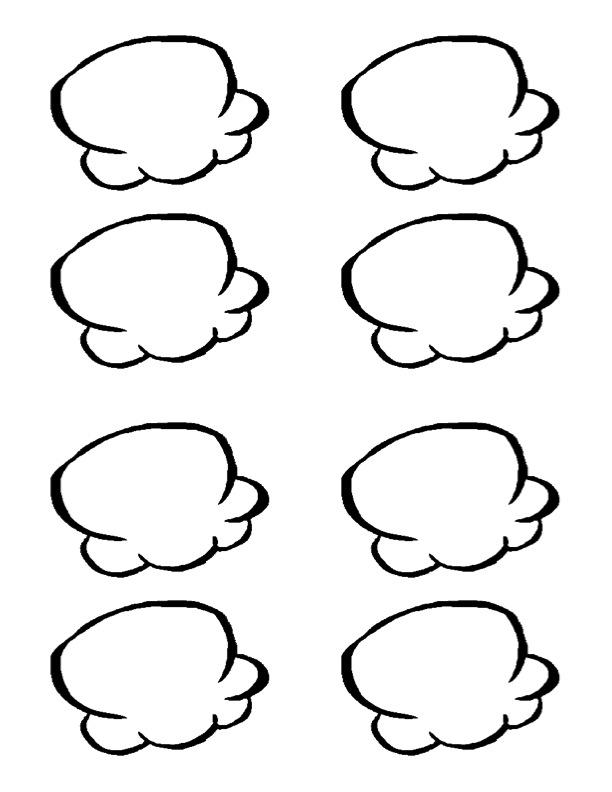 Popcorn Kernel Outline Clip Art Popcorn Clip Art