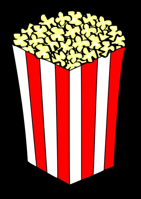 Popcorn Piece Clip Art Popcorn clip art