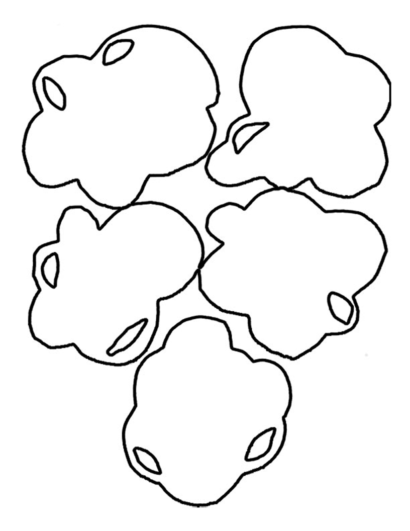 photograph relating to Printable Popcorn Template identified as Piece Of Popcorn Template Clipart Panda - No cost Clipart Pictures