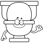 Clipart Bathroom Black And Whitetoilet Bowl Clip Art