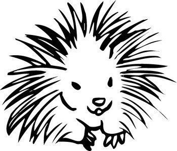 Clip Art Porcupine Clipart porcupine clipart panda free images